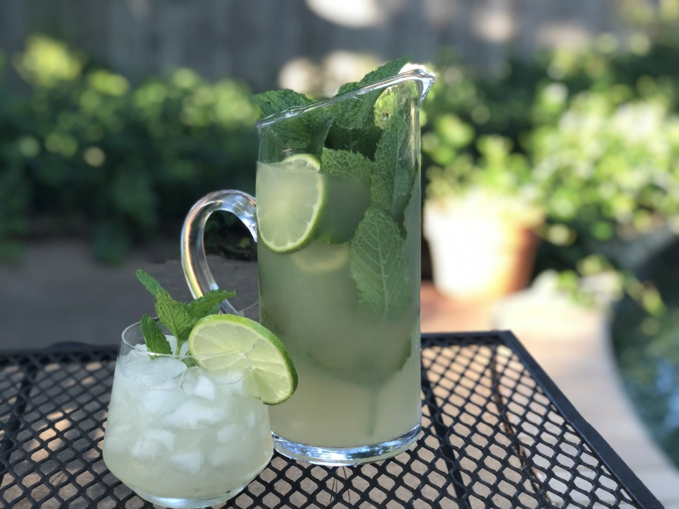 <strong>Want to elevate your mojito for the picnic? Add fresh ginger to your mint syrup and a splash of ginger ale on top instead of club soda.</strong> (Jennifer Biggs: Daily Memphian)