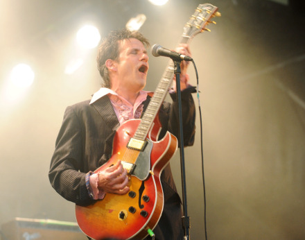 <strong>Paul Westerberg with The Replacements, 2014</strong> (AP file photo)