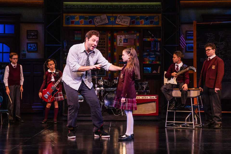 "<strong>Merritt David Janes and Sami Bray are on tour with the musical ""School of Rock."" Sami, 10, is from Memphis.</strong> (Photo courtesy of Evan Zimmerman)"