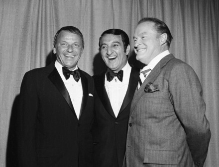 "<p class=""p1""><strong>Frank Sinatra, Danny Thomas and Bob Hope at the &ldquo;Shower of Stars&rdquo; in 1971. The sold-out shows raised about $300,000&nbsp;for St. Jude Children&rsquo;s Research Hospital.&nbsp;</strong>(Courtesy of St. Jude Children&rsquo;s Research Hospital)"