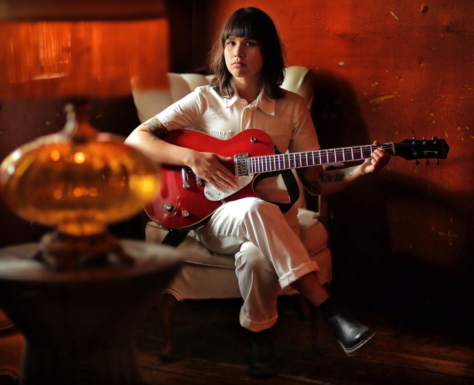 <strong>Musician Allison Kasper is one of the organizers of GRRL Fest, which features musical acts that are led by women and performers who identify as female. The festival will be held in both ends of the Hi-Tone Cafe on Saturday, May 18.</strong> (Jim Weber/Daily Memphian)