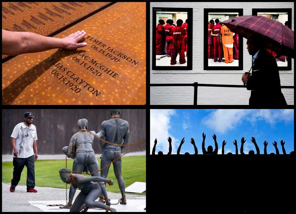 <strong>The National Memorial for Peace and Justice, a new memorial to honor the thousands of people killed in racist lynchings, is now open in Montgomery, Ala.</strong> (AP Photos)