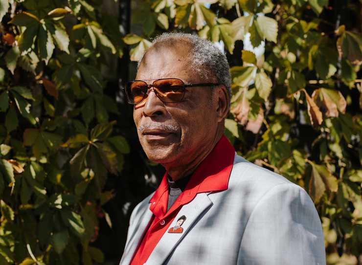 <strong>Memphis Lynching Sites Project executive director John Ashworth  </strong>(Houston Cofield/Daily Memphian)