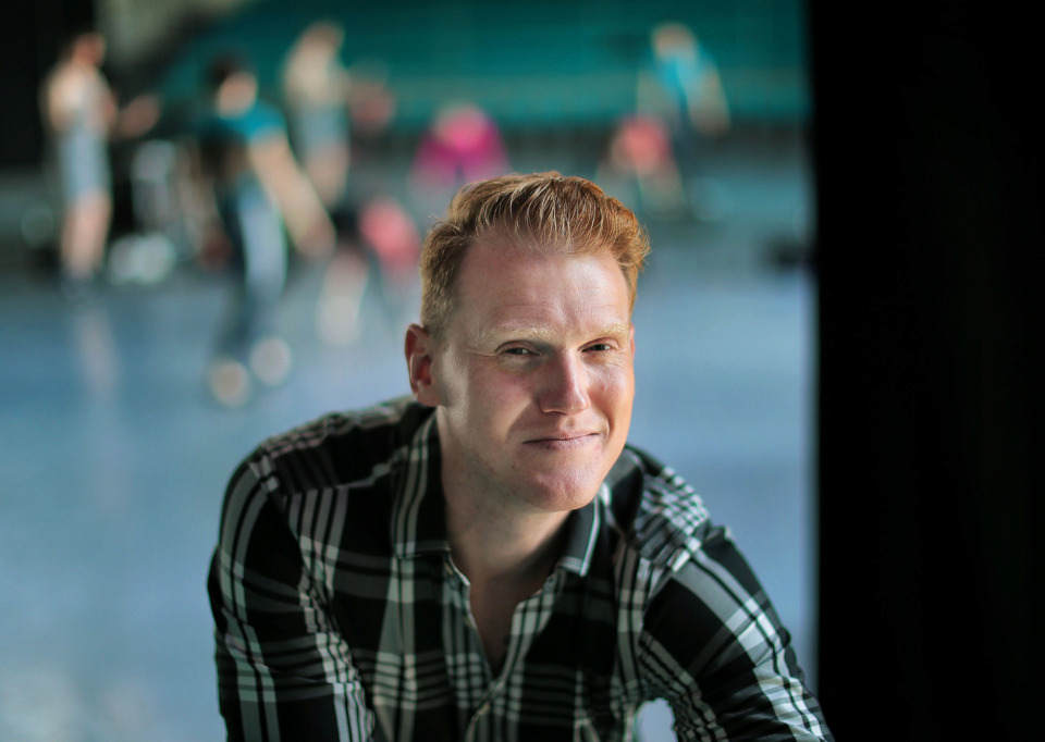 <strong>Steven McMahon, 34, will become only the second artistic director in Ballet Memphis' 32-year history. The Scotland native began his career at Ballet Memphis as a company dancer in 2004.</strong> (Jim Weber/Daily Memphian)