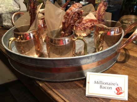 <strong>Millionaire's bacon is a favorite on the Happier Hour menu at Napa Cafe.</strong> (Jennifer Biggs/Daily Memphian)