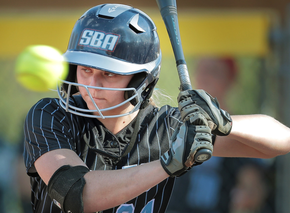<strong>St. Benedict softball standout E.C. Taylor and the Eagles take on Chattanooga GPS Tuesday at Spring Fling in Murfreesboro.&nbsp;</strong>(Jim Weber/Daily Memphian file)