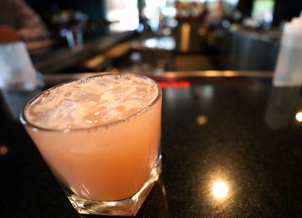 <strong>The grapefruit-forward Sharona cocktail, named after the famous song, can be found at Amerigo this summer.</strong> (Partrick Lantrip/Daily Memphian)