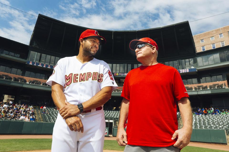 A Season of Life: Redbirds manager Ben Johnson here for more than baseball - The Daily Memphian