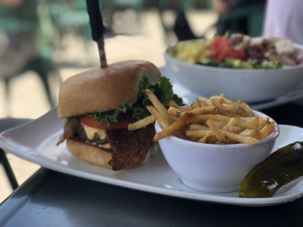 <strong>The Bacon Pimento Cheese Burger has been added to the new menu at Pimento's in East Memphis and is an excellent burger.</strong> (Jennifer Biggs/Daily Memphian)