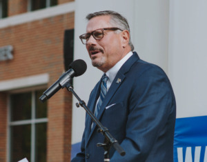<strong>University of Memphis athletic director Tom Bowen resigned his position in April, days after the university received a letter questioning his behavior on a women's basketball road trip.&nbsp;</strong>(Houston Cofield/Daily Memphian file)