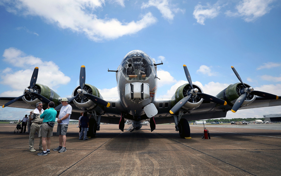 <strong>The Aluminum Overcast is one of the last remaining airworthy Boeing B-17 Flying Fortresses in the world. Millington-Memphis Airport executive director Roy Remington calls it a &ldquo;living piece of history.&rdquo;</strong> (Patrick Lantrip/Daily Memphian)