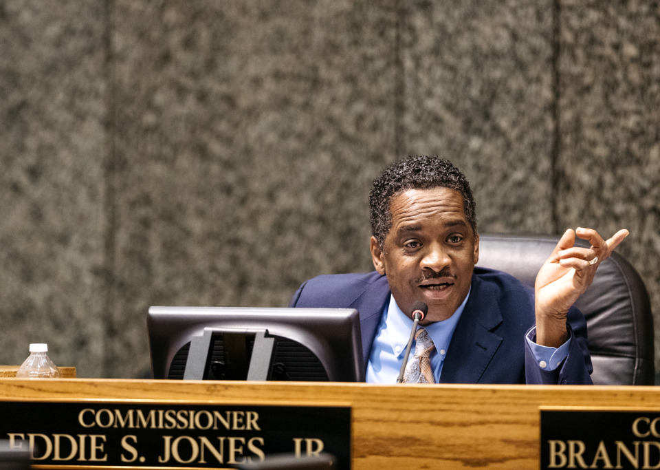 "<strong>Shelby County Commissioners&nbsp;will hold a community budget meeting on June 4, 2019, at Graceland Soundstage. Commissioner Eddie Jones says the public meeting is&nbsp;""a step in that direction of being transparent to the people who put us in office on their behalf.""</strong>&nbsp;(Daily Memphian file)"