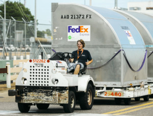 <strong>FedEx's contract to carry Amazon packages in the U.S. domestic market will end June 30.</strong>&nbsp;(Daily Memphian file)