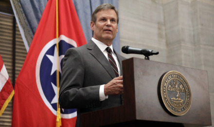 <strong>Gov. Bill Lee will make a series of stops in Memphis Tuesday and Wednesday, including signing a bill that eliminates the state fee to expunge criminal records.</strong> (Mark Humphrey/Associated Press file)