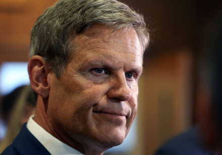 <strong>Gov. Bill Lee started Tuesday in Memphis with a forum put on by the University of Memphis Public Safety Institute, urging employers to hire ex-offenders.&nbsp;</strong>(Patrick Lantrip/Daily Memphian)