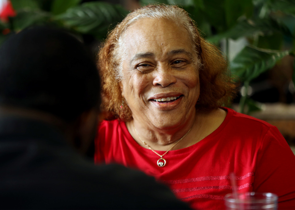 <strong>&ldquo;She was a mother to all, not just her own,&rdquo; Patrice Bates Thompson said of her mother, Jo Ellen Bates. Mrs. Bates, a retired Memphis City Schools teacher and matriarch of the popular South Memphis eatery The Four Way, died Sunday at age 74.</strong> (Patrick Lantrip/Daily Memphian file)