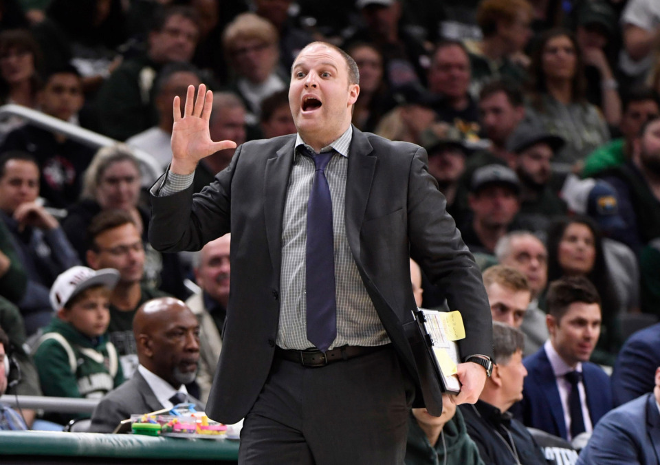 <strong>The Memphis Grizzlies have a new head coach in Milwaukee assistant Taylor Jenkins.</strong> (<span>Greg Nelson/Sports Illustrated/Getty Images)</span>