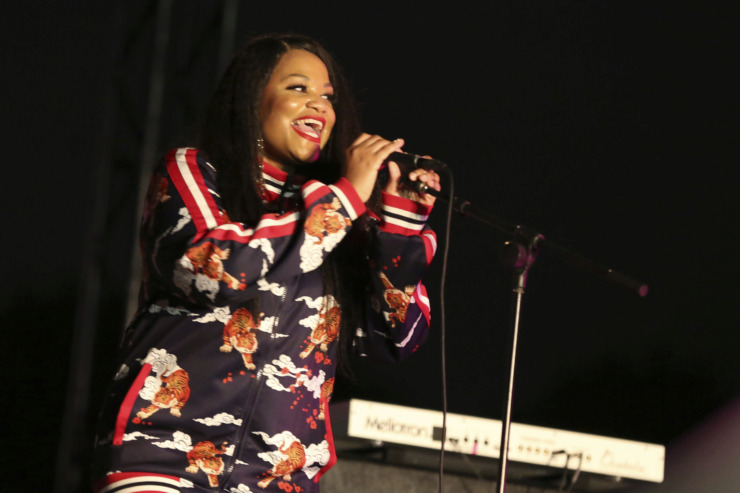 "<strong>Self-proclaimed ""queen of Austin soul"" Tameca Jones will play The Green Room at Crosstown Arts Thursday.&nbsp;</strong>(Photo by Laura Roberts/Invision/AP Images)"