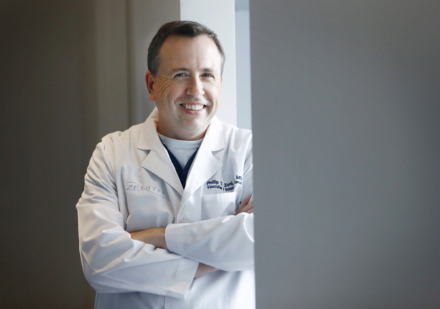 <strong>Dr. Phillip Zeni Jr., founder of Zenith Health and Aesthetics in East Memphis, was head of interventional radiology at Baptist Memorial Hospital for more than 20 years.</strong> (Mark Weber/Daily Memply Memphian)