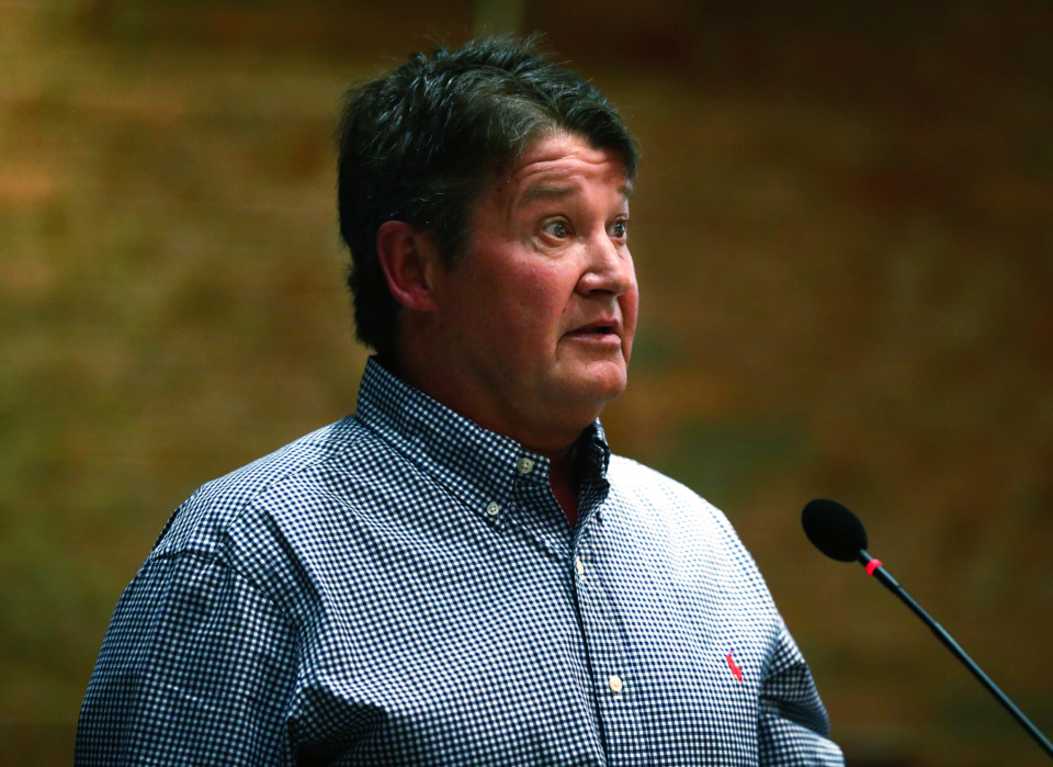 <strong>David Skinner is requesting the Germantown Planning Commission rezone a parcel he owns on Poplar for office and neighborhood commercial use. Skinner's earlier rezoning request, which would have accommodated a Chick-fil-A restaurant, was denied.&nbsp;</strong>(Houston Cofield/Daily Memphian file)