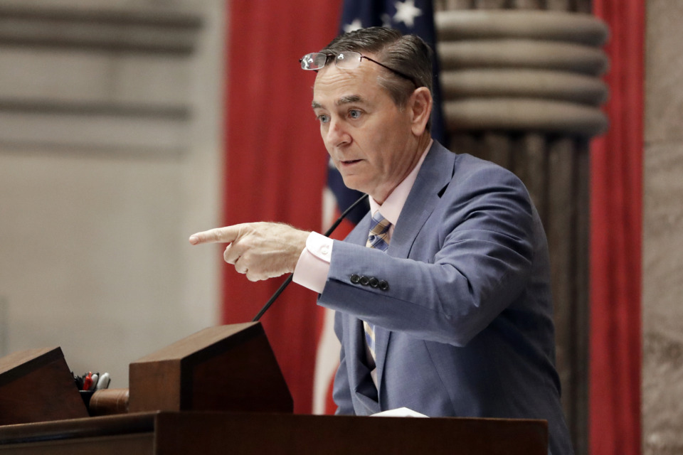 <strong>Tennessee House Speaker Glen Casada is expected to resign the post Aug. 2 after Gov. Bill Lee, spurred by House Republican leaders, called for him to step down. Lee says he'll convene a special session in August to elect a new speaker.</strong> (Mark Humphrey/AP Photo)