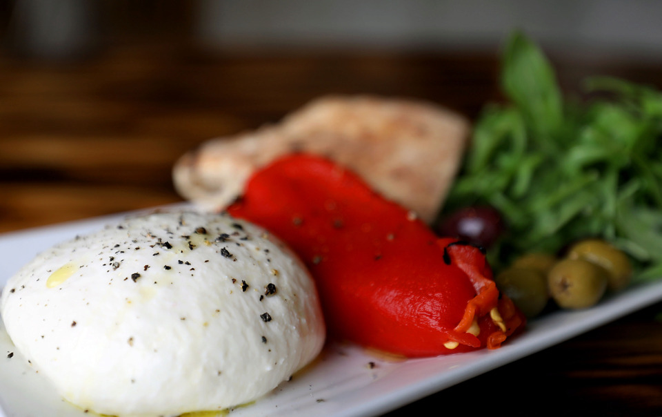 <strong>At Elemento in Crosstown, chef/owner Adrian Arcuri makes his own mozzarella and burrata.</strong> (Patrick Lantrip/Daily Memphian)