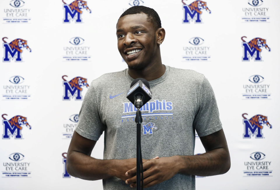 "<strong>""Nobody knows what I can do,"" says Lance Thomas, ""kind of goofy"" in the locker room and a force on the court.</strong> (Mark Weber/Daily Memphian)"