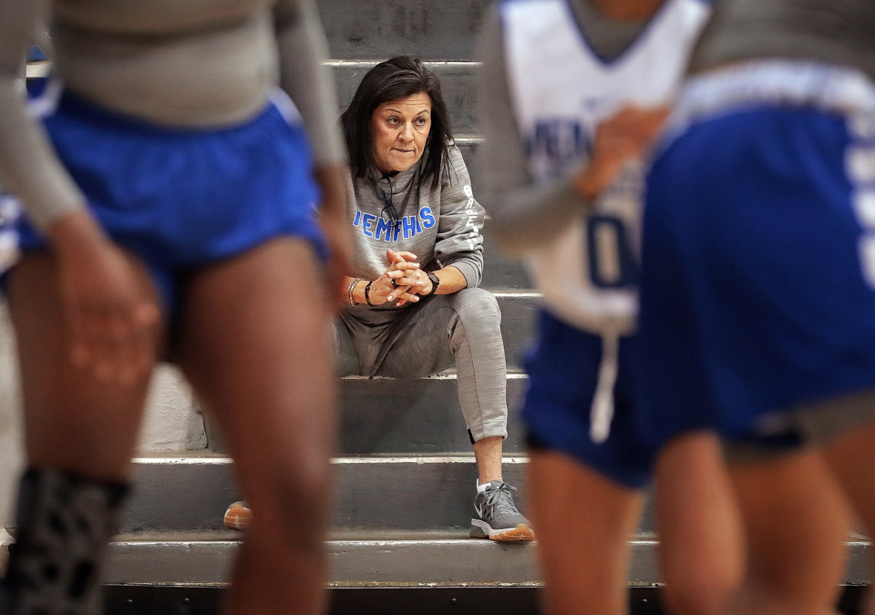 <strong>University of Memphis women's basketball coach Melissa McFerrin has coached the team for 10 seasons, recording a 175-172 record and no NCAA Tournament appearances. On Wednesday, July 3, the university acknowledged hiring an outside firm to investigate complaints by former players regarding the culture of the program under McFerrin.&nbsp;</strong>(Jim Weber/Daily Memphian file)