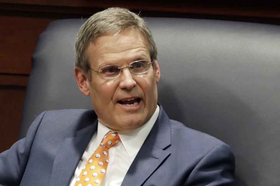 "<strong>Tennessee Gov. Bill Lee says his office is exploring the idea of seeking a Medicaid block grant for ""innovative"" ways to use about $7 billion in federal funds.</strong> (AP Photo/Mark Humphrey)"