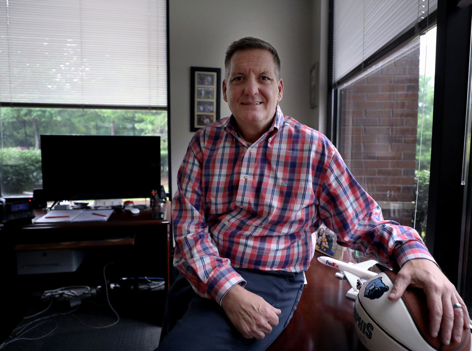 <strong>Dan Weddle is taking over as president and CEO of ProTech Systems Group as founder Steve Bargiacchi retires after more than three decades at the helm.</strong> (Patrick Lantrip/Daily Memphian)