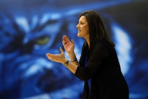 <strong>Emails between University of Memphis officials show women's basketball coach Melissa McFerrin wanted to negotiate a new contract as early as January.</strong> (Joe Murphy)