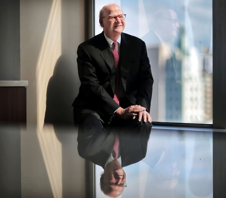 <strong>Ben Adams has ended his time as chairman and CEO of Baker Donelson after leading the firm for a combined total of 21 years over two tenures.</strong> (Jim Weber/Daily Memphian)