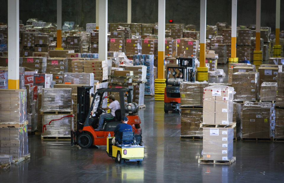 <strong>Patterson Warehouses, which operates more than 2 million square feet of contract warehouse space in six Memphis-area facilities, is seeking a tax abatement for a planned expansion and renovation.</strong> (Daily Memphian file)