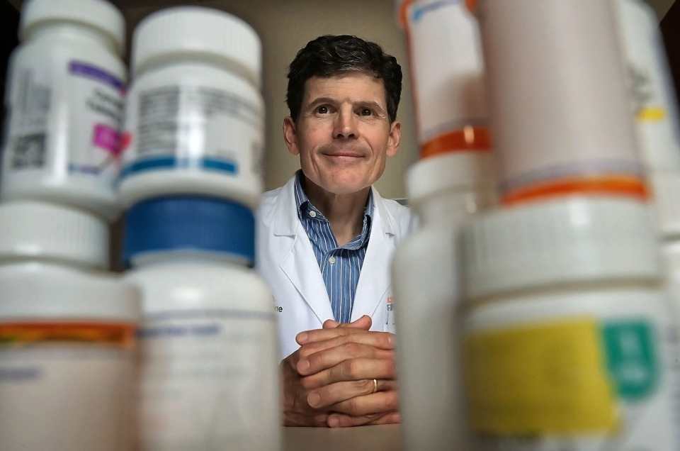 <strong>Dr. Jim Bailey, professor of internal medicine and preventive medicine in the University of Tennessee Health Science College of Medicine, was a lead researcher in a four-year study that looked at what happens when a nurse and a pharmacy tech visit super utilizers in their homes after discharge and advise and advocate for their care.</strong> (Jim Weber/Daily Memphian)