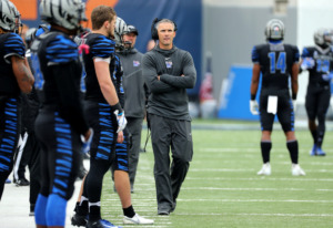 "<strong>University of Memphis head coach Mike Norvell is building what could be his strongest recruiting class since joining the Tigers four years ago.&nbsp;<span class=""s1"">Memphis holds 15 commitments and the No. 40 class overall, according to the 247Sports Team Rankings.&nbsp;</span></strong><span class=""s1"">(Houston Cofield/Daily Memphian file)</span>"