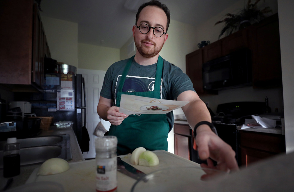 <strong>Daniel Snyder is one of the first Memphians who signed up for a new local meal kit delivery service known as Fix.</strong> (Patrick Lantrip/Daily Memphian)