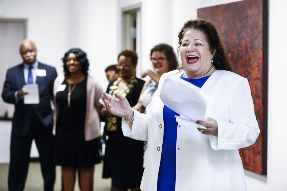 <strong>A host of city and county offices, including Shelby County Trustee Regina Morrison Newman, (right) have sponsored the Greater Memphis Financial Empowerment Center, which provides free one-on-one financial counseling for any resident of Shelby County, regardless of income.</strong> (Mark Weber/Daily Memphian).