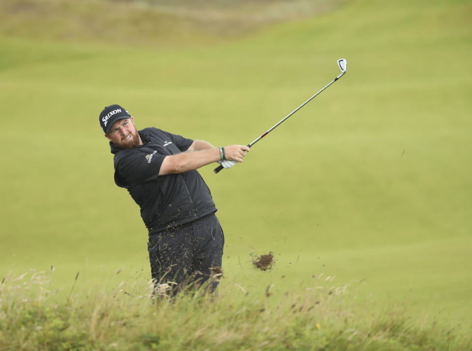 "<p class=""regdt""><strong>Ireland's Shane Lowry plays a shot from the 8th fairway during the final round of the British Open Golf Championships at Royal Portrush in Northern Ireland, Sunday, July 21, 2019. Lowry has withdrawn from the WGC-FedEx St. Jude Invitational.&nbsp;</strong>(AP Photo/Peter Morrison)"