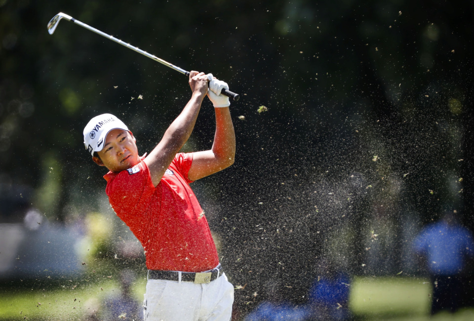 <strong>Hideki Matsuyama is one of five players who finished the opening round of the WGC-FedEx St. Jude Invitational at 5-under 65 on Thursday, July 25, 2019.&nbsp;</strong>(Mark Weber/Daily Memphian)
