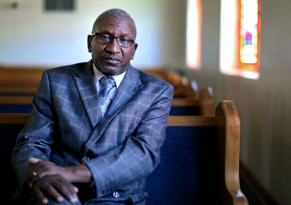 <strong>COGIC Bishop David Hall, director of Life Project Inc., hopes to establish a Life Together location in South City. The Shelby County Commission awarded $250,000 for the project that will include a community clinic, cyber cafe, and programs for seniors, entrepreneurs and ex-offenders.<span>&nbsp;</span></strong>(Patrick Lantrip/Daily Memphian)
