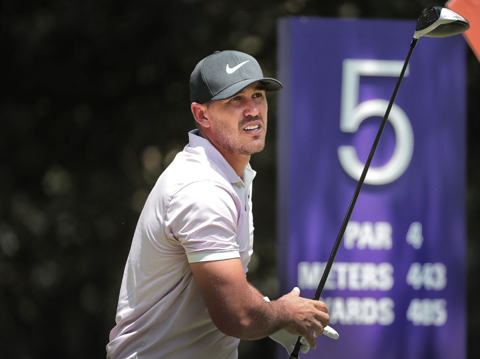 <strong>Brooks Koepka's 6-under 64 on Saturday puts him in the final pairing with Rory McIlroy for Sunday at the WGC-FedEx St. Jude Invitational Saturday.</strong> (Jim Weber/Daily Memphian)
