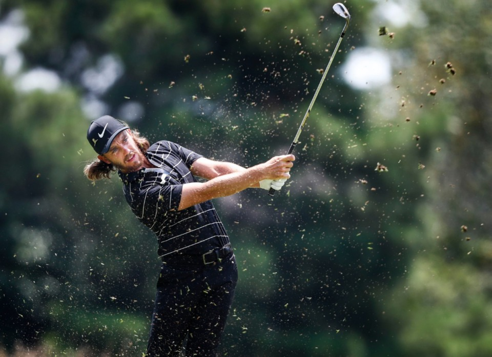 <strong>Tommy Fleetwood shot a 4-under 66 and finished the tournament in a tie for fourth Sunday.</strong> (Mark Weber/Daily Memphian).