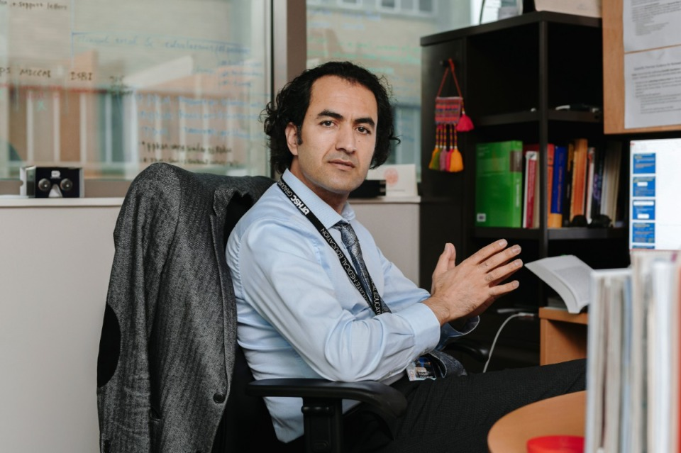 <strong>Siamak Yousefi, an assistant professor at the University of Tennessee Health Science Center, received $500,000 in federal funding to develop an artificial intelligence algorithm that will help determine if a patient is at risk for glaucoma or in the early stages of disease.</strong> (Houston Cofield/Special to The Daily Memphian)