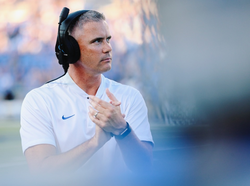 <strong>The numbers suggest Tigers coach Mike Norvell's type of offense may have the edge over Ole Miss.</strong> (File/Daily Memphian)