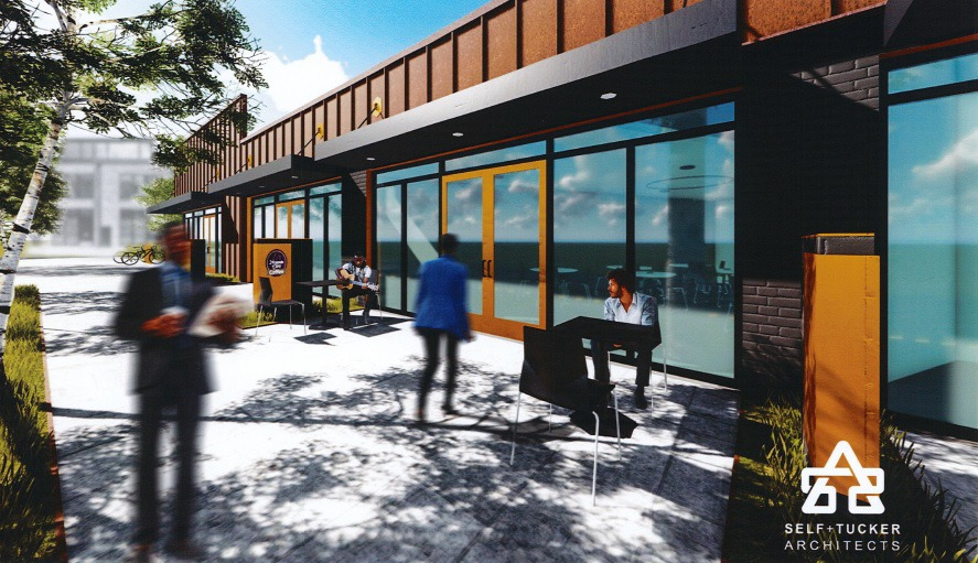 <strong>The South Memphis Renewal CDC is seeking a $25,000 ICED loan to help with construction of The 38126 Innovation and Technology Center at 991 Mississippi Blvd. </strong>(Rendering courtesy Self-Tucker Architects)