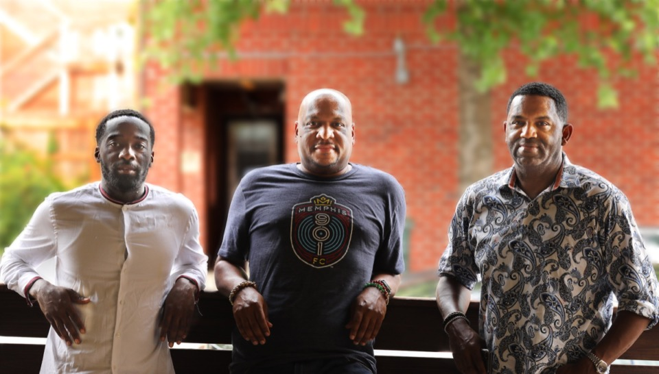 <strong>(From left) Robert Higgins, Adrian Granderson and Joe Johnson opened the first WKND Hang Suite in Nashville, and have opened a second site at the former Raiford's Hollywood Disco at 115 Vance Ave.</strong> (Patrick Lantrip/Daily Memphian)