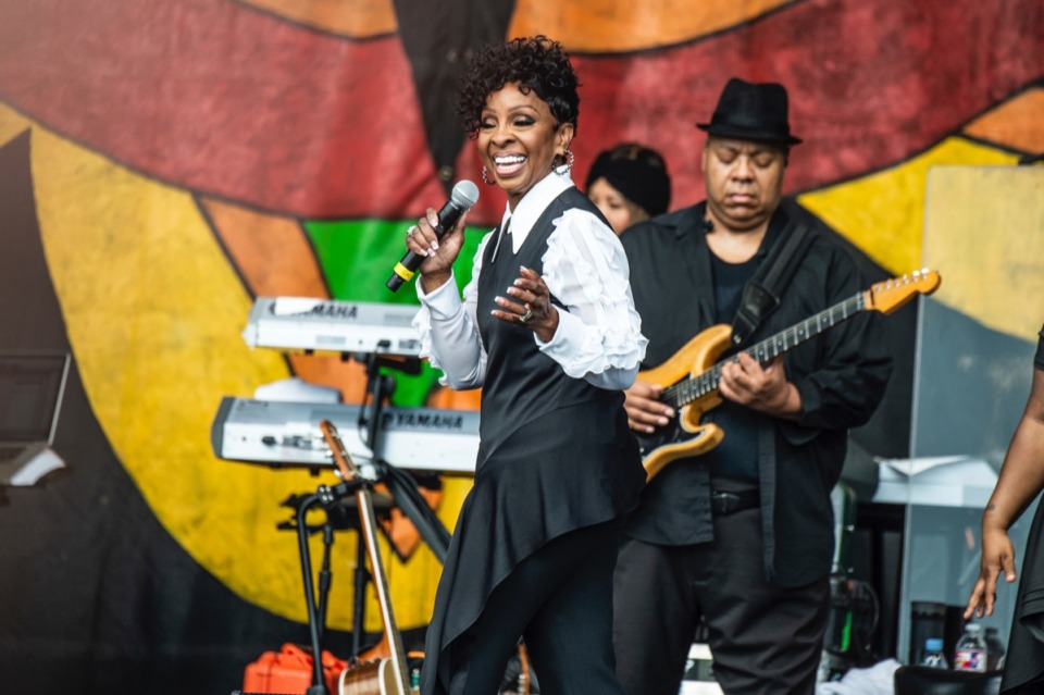 <strong>Gladys Knight, seen here at the New Orleans Jazz and Heritage Festival in May, will perform at the Southern Heritage Classic Cultural Celebration this weekend.</strong> (Amy Harris/Invision/AP)