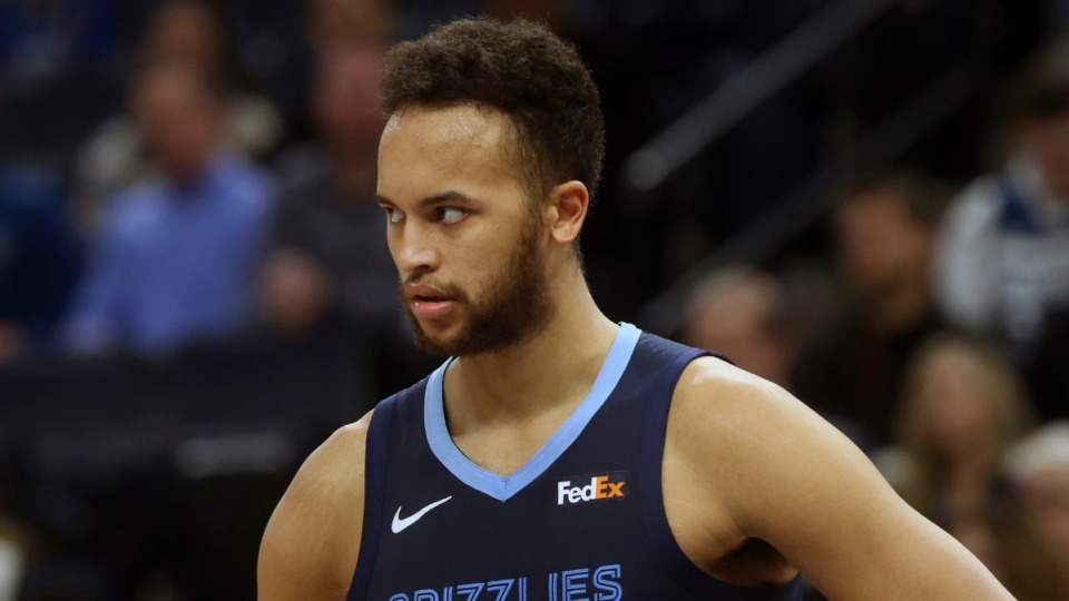 <strong>Memphis Grizzlies' Kyle Anderson, seen here in January, has been cleared for participation.&nbsp;</strong>(Jim Mone/AP)