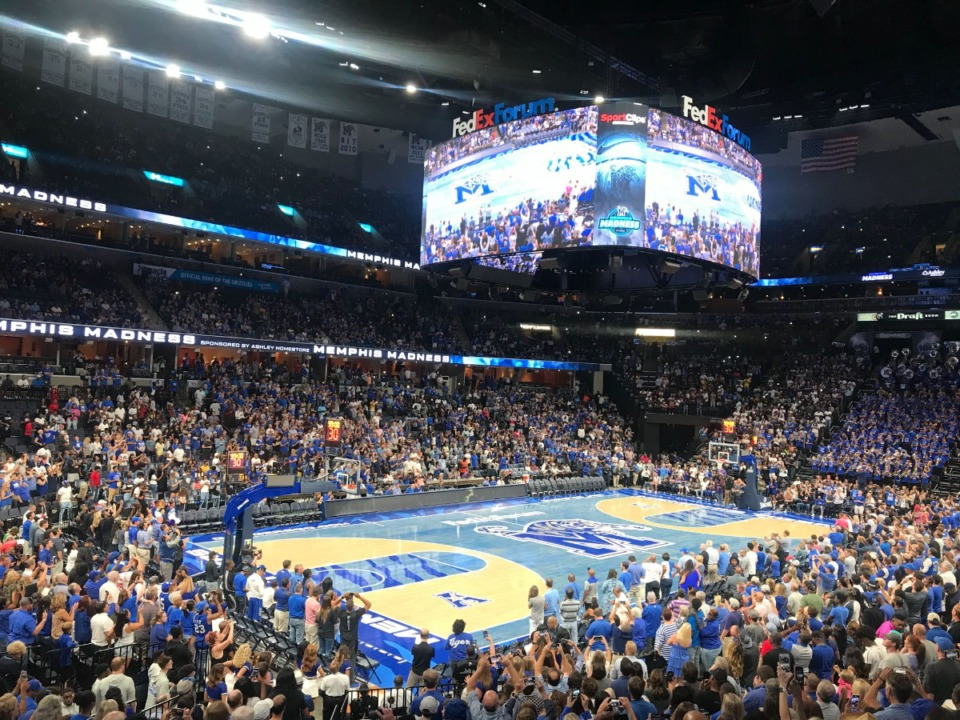 Memphis Madness Tigers Reveal New Floor For 2019 20 Season