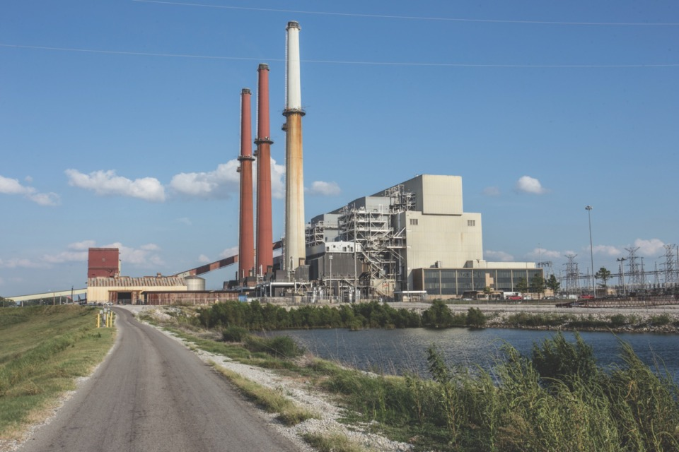 <strong>The Allen Fossil plant stands alone in southwest Memphis.</strong> (File/Daily Memphian)